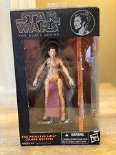 STAR WARS The Black Series Princess Leia Slave Outfit 6? action figure NIB