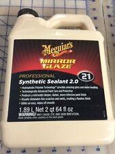 Meguiar's M21 Mirror Glaze Synthetic Sealant 2.0 - 64 oz.