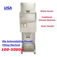 100-5000g Granular Powder Filler Popcorn Peppermint Filling Machine  AUTOMATIC