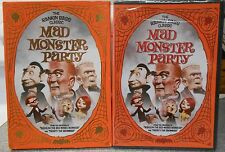 Mad Monster Party (DVD 2005 Foil O-Card Packaging) RARE 1967 ORIGINAL BRAND NEW