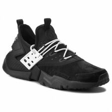 size 40 b652b fa4f6 Nike Air Huarache Drift Premium Triple Black Mens Shoes Us9 Deadstock