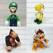 Nintendo Super Mario Bros Luigi Yoshi Donkey Kong Bowser Action Figure figurine