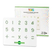 Magnetic Letter Board by California Toys - Writing Board for Kids - Numbers