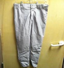 Baseball Pants Adult Grey Gray Mens XLarge New 100% Polyester XL