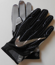 Nike Youth Superbad 4.0 Football Gloves Black/Wolf Grey/Metallic Silver Size L
