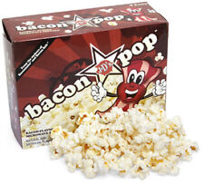 2 pack Bacon Pop Bacon Flavored Microwave Bacon Popcorn Vegetarian, 9 oz boxes