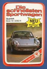 Quartett - Die schnellsten Sportwagen - ASS - Nr. 3282/4 - von 1977 - Auto