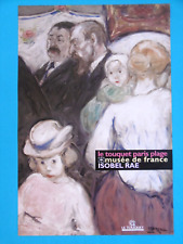 ISOBEL RAE Affiche originale Australian impressionnist musée Le Touquet enfant