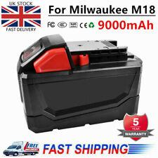 Free Milwaukee T-Shirt L Milwaukee M18B4 18v 4Ah Li-Ion Red genuine battery