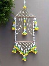 Thai Ancient Style Handmade Hanging Flowers Vimarn Pra Indra (Gardenia ) Decor
