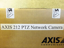 Axis 212 PTZ Network IP Web Security Surveillance Color Cam Camera 0257-004 POE