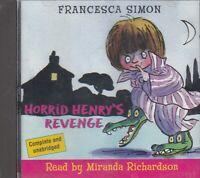 Horrid Henry's Revenge Francesca Simon CD Audio Book Unabridged FASTPOST