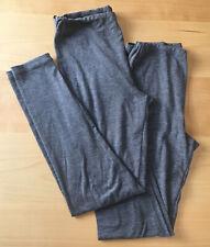 2x UNIQLO Kids Heattech Grey Leggings Base Layer 9-10yrs