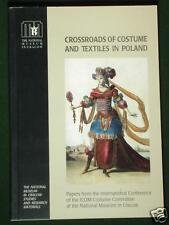 BOOK Costume & Textiles in Poland kontusz sash Norwegian bunad fashion art ICOM