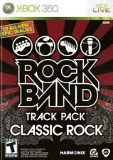 Rock Band Track Pack: Classic Rock Xbox 360 New Xbox 360