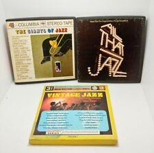 Reel to Reel LOT of 3 Jazz  Good Condition LOOK!!