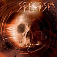 SARCASM-REVOLT-CD-speed-thrash metal-s.d.i.-cranium-risk paradox-tankard