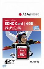 AGFA SDHC Card Karte 4GB Class10 UHS-I HighSpeed (10424) NEU (worldwide) 005-128