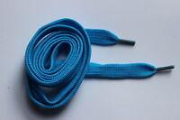 1 Pair 110cm Flat Shoelaces 20+ Colours Shoe Laces Football Boots Trainer Shoes