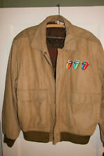 1989 Rolling Stones Band/Staff Suede Tour Jacket