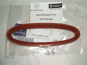 Mercedes-Benz OM642 Red Air Intake Seal Genuine A6420940280