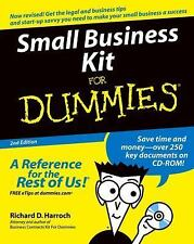 Small Business Kit For Dummies - Acceptable - Harroch, Richard D. - Paperback