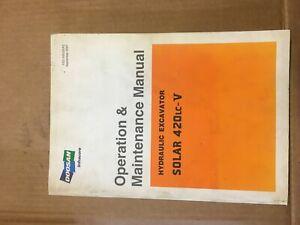 DOOSAN DX340LC Excavator Operation & Maintenance Manual
