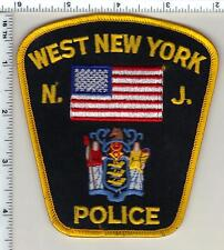 West New York Police (New Jersey) Shoulder Patch from 1991