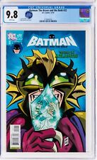Batman Brave and the Bold #22 CGC 9.8 - LOW print run, highest grade on census (