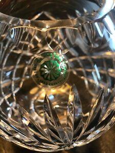 Galway Irish Crystal Footed Rose Bowl