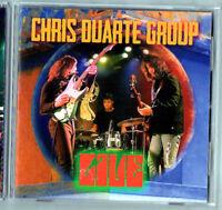 Live by Chris Duarte/The Chris Duarte Group (CD, 2013, 2 Discs, Shrapnel)