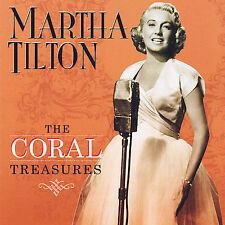 MARTHA TILTON The Coral Treasures  (CD, Sepia Records)