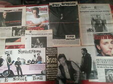 Bruce Springsteen great collection clippings articles newspapers reports concert