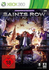 X360/XBOX 360 gioco-Saints Row IV (4) (con imballo originale) (usk18)