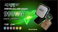 Kasens KS-990WG High Power Wireless USB 2.0 Wifi Network Adapter 6000MW 60dbi