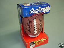 Vintage 1995 BRETT FAVRE Rawlings Football with Box !!