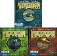 Karen Marie Moning - Highlander TRILOGIE 30 CD + 4 MP3-CD NEU Hörbuch CDs
