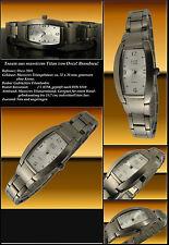 "OSCO Solid Titan Ladies Designer Watch Face Grey "" Sunray "" New"