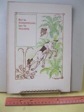 Vintage Print,HOUNDSTONGUE,Walter Crane,1899,Harper Bros,Floral Fantasy