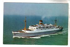SS Maasdam - Holland America Line Postcard c1950's