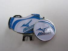 Golf Ball Marker Hat Clip MIZUNO * White * Golf Bag Magnetic