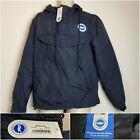 Brighton And Hove Albion Football Coat Blue Pullover Mens Size Medium *BNWT*
