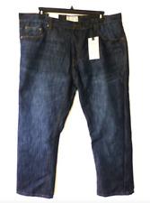 Alexander Julian Jeans Mens Size 46X32 Straight Fit Baren Wash Blue Jeans New