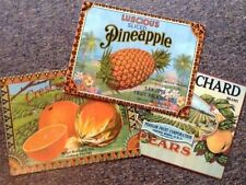 Tin Tropical Decorative Plaques & Signs