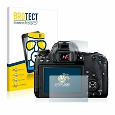 Canon EOS 77D , BROTECT® AirGlass® Premium Glass Screen Protector, Extra-Hard