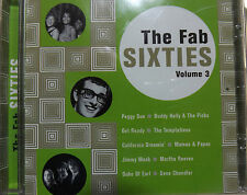The Fab Sixties Volume 3 UK 16 Track CD Album Temptations, Bachelors & Many More