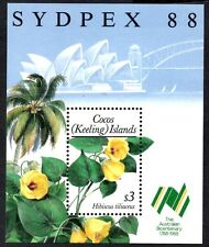 "Cocos (Keeling) Islands 1988 ""Sydpex 88"" Stamp Exhibition  SG.MS203 Mint MNH"