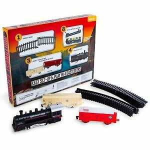 Southwest Express Train Set with working headlights battery operated 13 piece