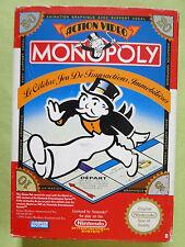 MONOPOLY - Jeu complet en boite NES - Nintendo - PAL B FRA