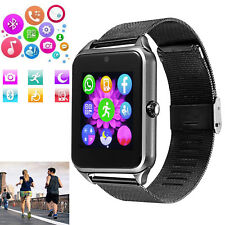 Bluetooth Smart Watch Phone Mate for Android Samsung S20 S10 S9 Note 9 8 Huawei